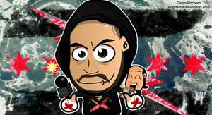 CM Punk Best in the World Chibi Wallpaper by kapaeme