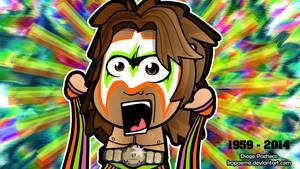 Ultimate Warrior 1959-2014 Chibi Wallpaper by kapaeme