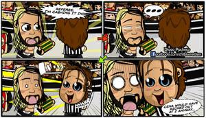 Seth Rollins and Dean Ambrose - WWE Comic Strip 10 by kapaeme