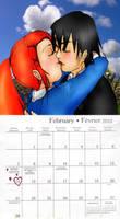 ben 10 AF February calender by AncientWonder