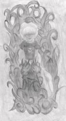 Rose Lalonde (Grimdark) - Original by Carolars
