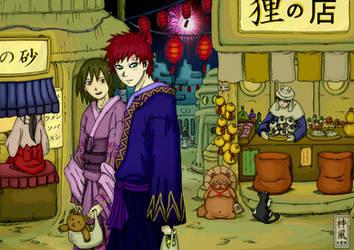 26-Suna festival by Gaara-Kamikaze