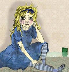 Soggy Alice by Jasika