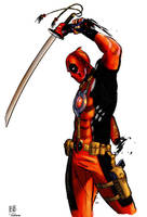 Reilly Brown's Deadpool by kerfufflecolor