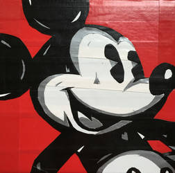 Mickey Mouse, Made With All Duct Tape by MajesticKumquat