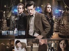 Asylum of the Daleks - Wallpaper by Vampiric-Time-Lord