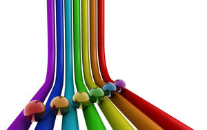 Rainbow wallpaper by egresh