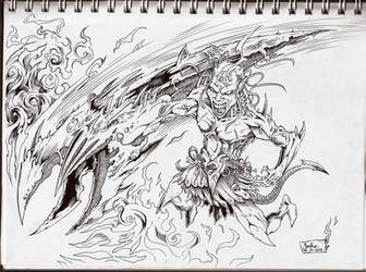 Warrior of Hell by natas88