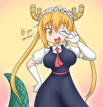 Best Dragon maid! by Sandwich-Anomaly