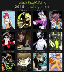 2015 Summary Of Art by foxsnacks