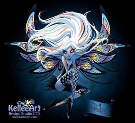 Nefairyous White by KelleeArt