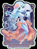 Aquarius by KelleeArt