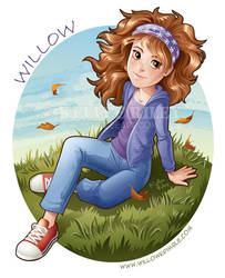 Willow Krimble Fan Art by KelleeArt