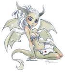 Dragon Girl by KelleeArt