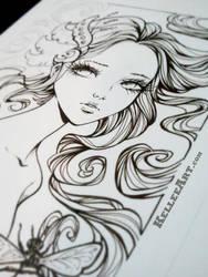 Unravel WIP by KelleeArt
