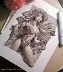 Poison Ivy Fan Art by KelleeArt