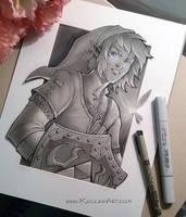 Link Fan Art by KelleeArt