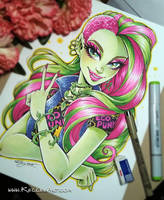 Venus McFlytrap Commission by KelleeArt