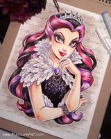 Raven Queen commission by KelleeArt