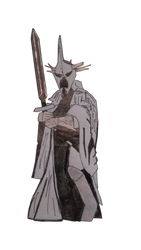 Witch King of Angmar by MissMartian4ever