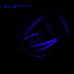Blue face by Shadeck