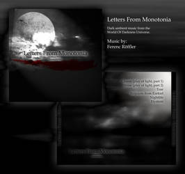 Letters from monotonia by Shadeck