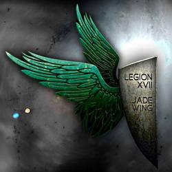 Legion Jade Wing banner by Shadeck