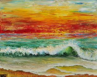 SUNSET BREEZE by ARTBYTERESA
