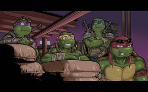 TMNT 2014 designs by psychotoonist