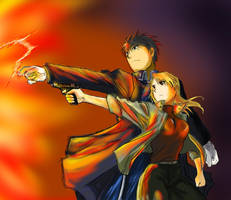 Roy X Riza 5 by Joanther