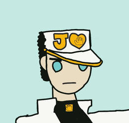 Jotaro Kujo (part 4) by Mombeck