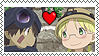 Reg and Riko stamp by agirlofmany-emoticon