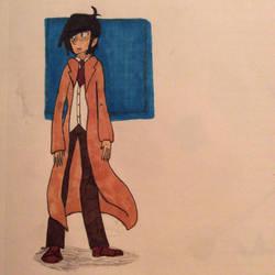Coat Man by Slinky-draws