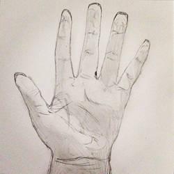 Hand by Slinky-draws