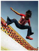 The Jump 5 by levhita