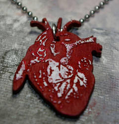 heart necklace  $15 shipped by bleedsopretty