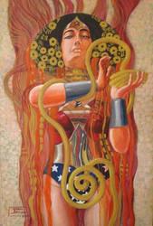 Wonder Woman by hyvanildo