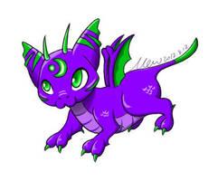 Familiar Dragon by kuramamew
