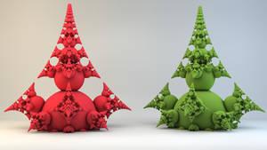 Fractal 3D print by nic022