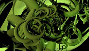 Le haricot magique FRACTAL 3D by nic022