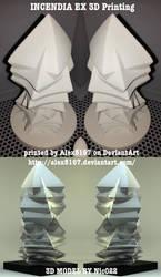 Incendia Ex FRACTAL 3D Printing by nic022