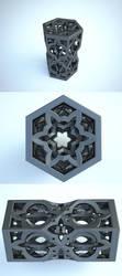 FRACTAL 3D V3 Socle Haut by nic022