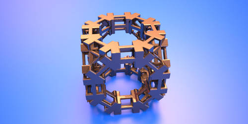 Fracal 3D Cube by nic022