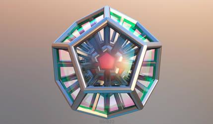 Mandelbulb FRACTAL 3D by nic022