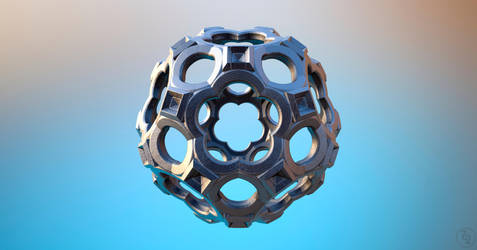 MB3D FRACTAL 3D STL Exported by nic022