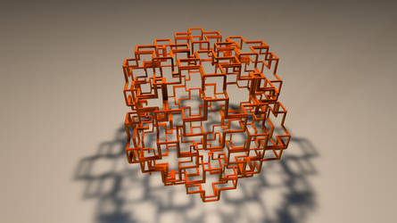 FRACTAL 3D Print Model by nic022
