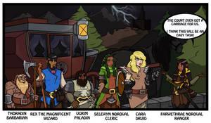 Ravenloft comic 1 by CandyKappa
