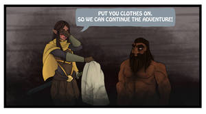 Ravenloft comic 11 Nekkid Bara Short-Stuff by CandyKappa
