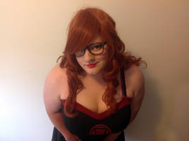 Marvel by Her Universe Black Widow Skater Dress 2 by CandyKappa