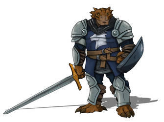 Thorinn - Dragonborn Paladin 5e by CandyKappa
